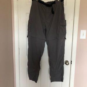 Magellan Men's Craghoppers Gray Convertible Pants